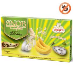 confetti snob ciocomandorla bianchi al gusto Banana da 500 g Crispo