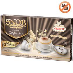 confetti snob ciocomandorla bianchi al gusto Cappuccino da 500 g Crispo