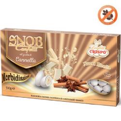 confetti snob ciocomandorla bianchi al gusto Cannella da 500 g Crispo