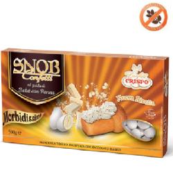 Confetti snob ciocomandorla bianchi al gusto Babà e Panna da 500 g Crispo