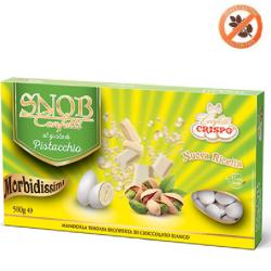 500 g Confetti Snob bianchi alla frutta gusto Pistacchio