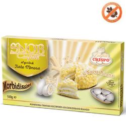 500 g Confetti Snob alla crema gusto Torta Mimosa Bianchi