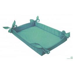 Cesto Bomboniere in tessuto tiffany 36 cm x 27 cm