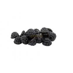 Caramelle gommose More Liquirizia colore nero in busta da 1 Kg