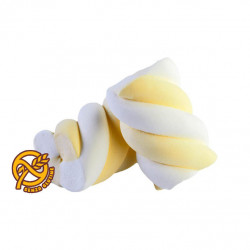 Marshmallow Treccia Bianco Giallo Bulgari Kg 1