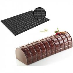 Tappeto Silicone Professionale per Torte Tronchetto Tablette o Tavoletta di cioccolato da Silikomart