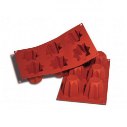 Stampo Pandorino SF100 in silicone professionale colore terracotta da Silikomart