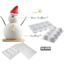 Kit stampi in silicone Pupazzo di Neve di Silikomart
