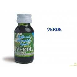 Colorante alimentare liquido Verde gr 35