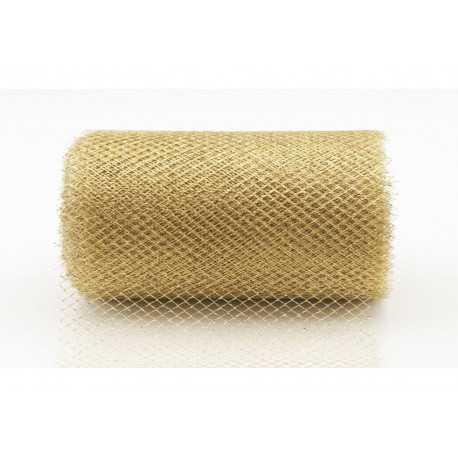 Rotolo effetto Lurex Rete 15x4,5mt Oro