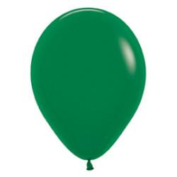 10 palloncini verdi diametro 23 cm