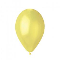 10 palloncini Crema diametro 23 cm