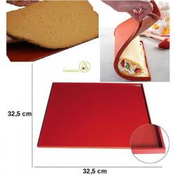 Tapis Roulade teglia tappetino quadrato con bordi da 325 mm da Silikomart