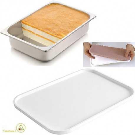 Stampo silicone inserti gelato variegato Tapis Gel02 320 x 220 x h 10 mm da Silikomart