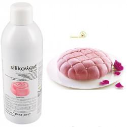 400 ml di colorante alimentare spray rosa vellutato, Velvet Spray rosa da Silikomart