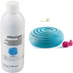 400 ml di colorante alimentare spray azzurro vellutato, Velvet Mini Spray azzurro da Silikomart