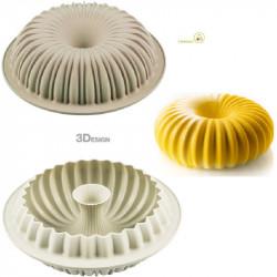 Stampo Raggio diametro 24 cm in silicone da Silikomart