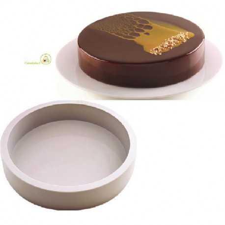Stampo Perla 20 per torta a disco da 20 cm in Silicone da Silikomart