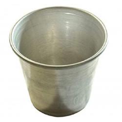 Forma Timballo in alluminio con bordatura 8 x 4,5 cm