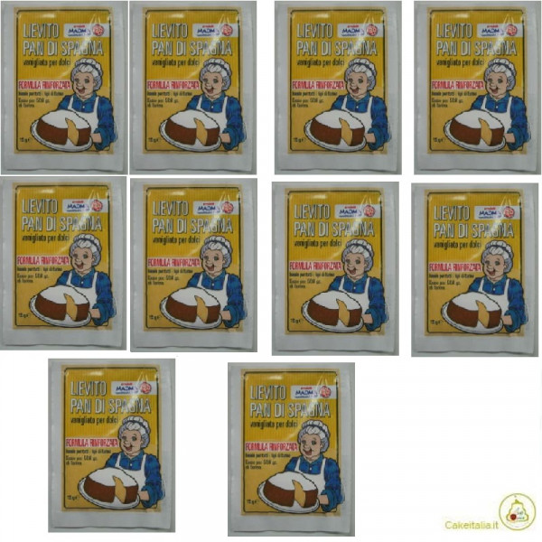 10 bustine da 15 g di Lievito pan di spagna di Madma