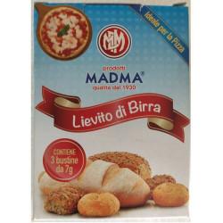 3 Bustine 7 g di Lievito Secco in polvere da Madma