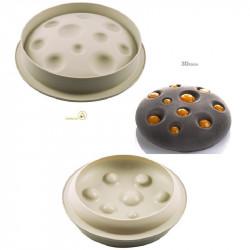 Stampo Luna diametro 22 cm, altezza 6 cm in silicone da Silikomart