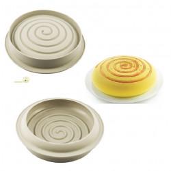 Stampo Girotondo in Silicone per torte da 22 cm da Silikomart