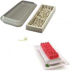 Kit 2 stampi in silicone per torta Frutti Rossi da Silikomart