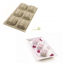 Stampo Mini Eleganza 3D in Silicone da 7 cm di Silikomart