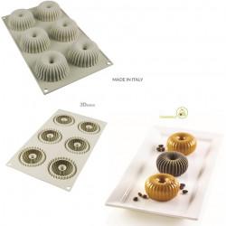 Stampo Mini Raggio 3D in Silicone da 7 cm da Silikomart