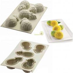 Stampo Mini Ananas 3D in silicone da Silikomart