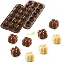 Stampo Cioccolato Cubetti Tridimensionali di Sfere o Choco Game 3D