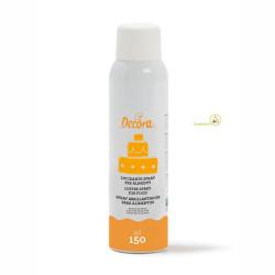 Spray Lucidante Trasparente Alimentare di 150 ml da Decora