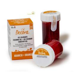28 g Colorante alimentare in gel arancione o giallo uovo Decora