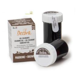 28 g Colorante alimentare in gel Marrone Decora