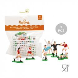 Kit Calcio con 2 porte e 7 giocatori