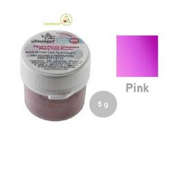 5 g Colorante alimentare in polvere rosa Perlato da Silikomart