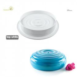 Stampo Water Drop 1200 in silicone per torte da 18 cm di Silikomart