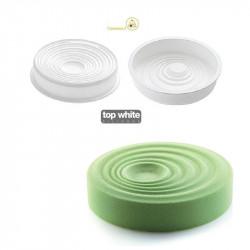 Stampo Vague in silicone per torte da 20 cm di Silikomart