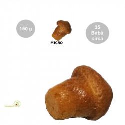 Babà micro secchi (no Rum) da bagnare in confezione da 150 g, per circa 35 babà micro