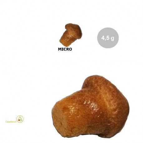 Babà micro secco (no Rum) da bagnare con peso che varia da 4 g, a 4,5 g