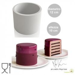 Stampo Tower alta 10 cm per torta a cilindro da 12 cm in Silicone da Silikomart