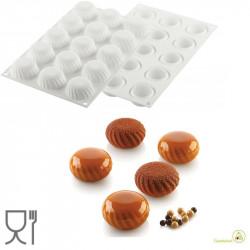 Stampo Samurai 30 ml mini sfere 3D in Silicone da 5 cm di Silikomart