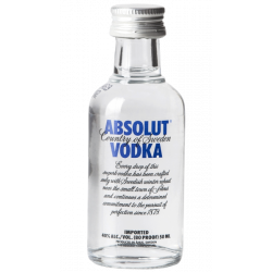 Vodka Absolut Mignon cl 5