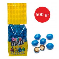 Sacchetto M&M's con arachidi Azzurro gr 500
