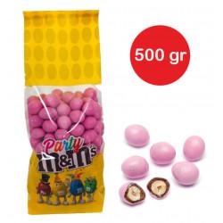 Sacchetto M&M's con arachidi Rosa gr 500