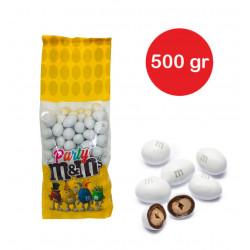 Sacchetto M&M's con arachidi Bianco gr 500