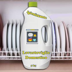 Detersivo per lavastoviglie domestiche 5 Kg