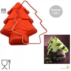 Stampo in silicone Albero o Pino Natalizio o Christmas Tree SFT203 da Silikomart
