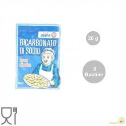 Bustina Bicarbonato di sodio dal peso di 20 g